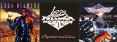 Legs Diamond CDs
